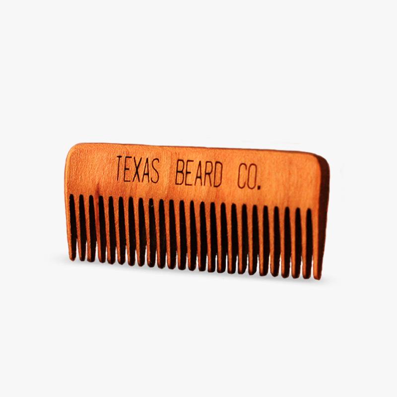 Mustache Comb Texas Beard Company