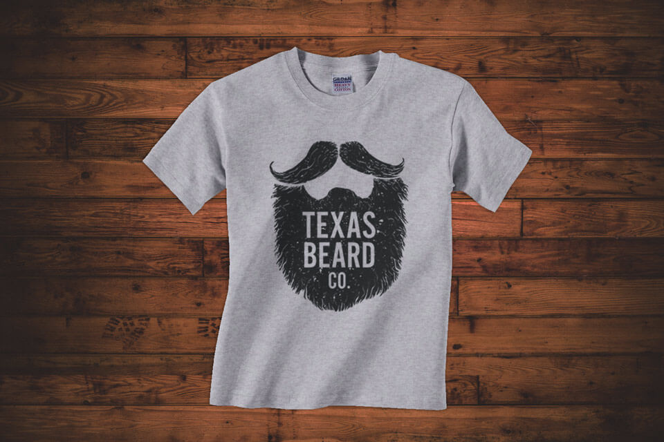 Texas beard company toddler shirt texas beard company for Texas tee shirt company