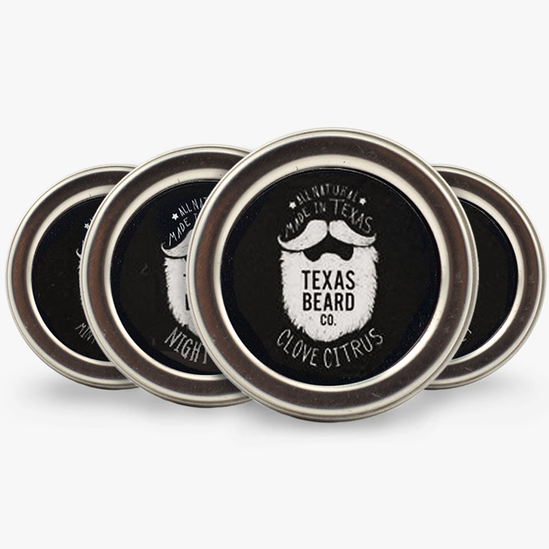 Beard Balm Trial Size 4-pack