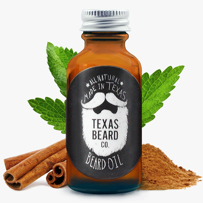 Cinnamon Mint Beard Oil (Limited Edition)