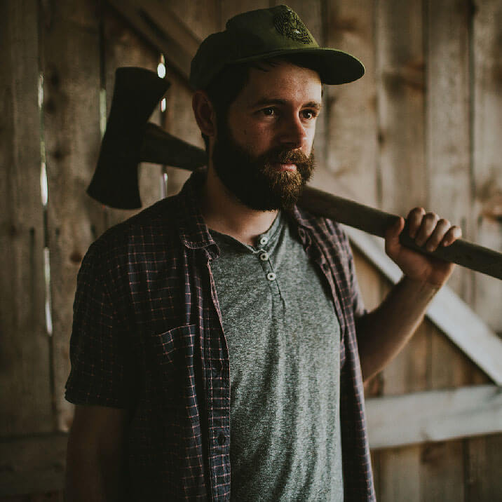 Man with Beard and Axe