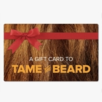 Printable Texas Beard Company Gift Card