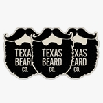 Texas Beard Company Iron-on Patch