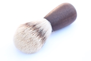 Hand-Turned Walnut Shaving Brush
