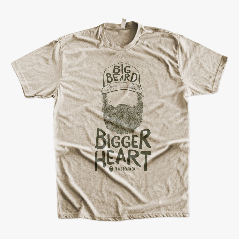 Big Beard, Bigger Heart Shirt